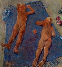 Коллекция русской живописи в Латвийском Национальном художественном музее