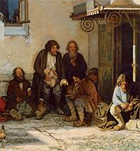 «Земство обедает» в Новосильском уезде. К 175-летию со дня рождения Г.Г. Мясоедова