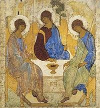 Образ Святой Троицы Андрея Рублева
