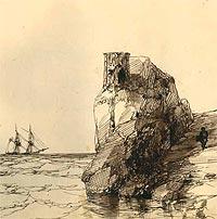 И.К. Айвазовский. Рисунок в альбом