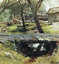 Илья Остроухов - московский художник и собиратель