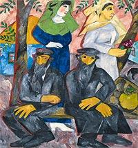 О выставке Наталии Гончаровой в Третьяковской галерее