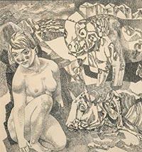 Этот многогранный жанр ню. Нагое тело в русской графике ХХ века