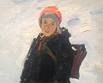 Новости от участников 45-го Российского Антикварного Салона - живопись Владимира Токарева