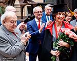 Вручение регалий почетного зарубежного члена Российской академии художеств  Генеральному директору ЮНЕСКО Одре Азуле