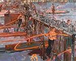 Театрализованный перфоманс на стихи Маяковского: последние дни работы выставки «Соцреализм. Метаморфозы. Советское искусство 192